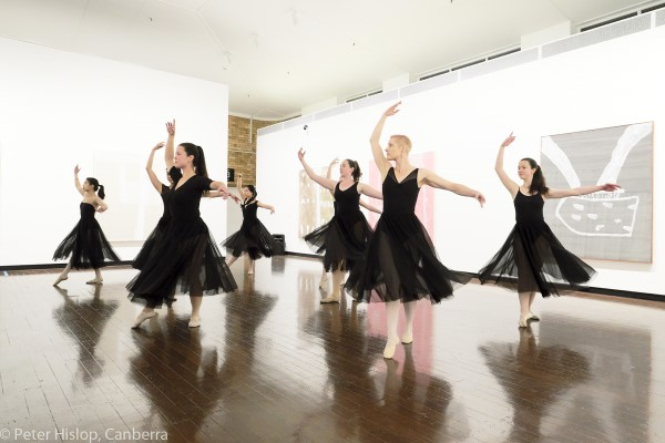 CDT ballet group performing Skimming the Surface